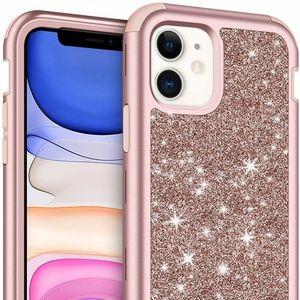 iPhone 11 Case w/ Front Bumper Bling Glitter